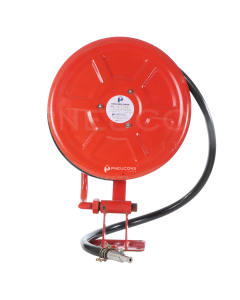 Hose Reel Drum With Hose Pipe, 25mm, Swivel Type, 15 mtr - 02