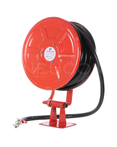 Hose Reel Drum With Hose Pipe, 25mm, Swivel Type, 30 mtr - 02