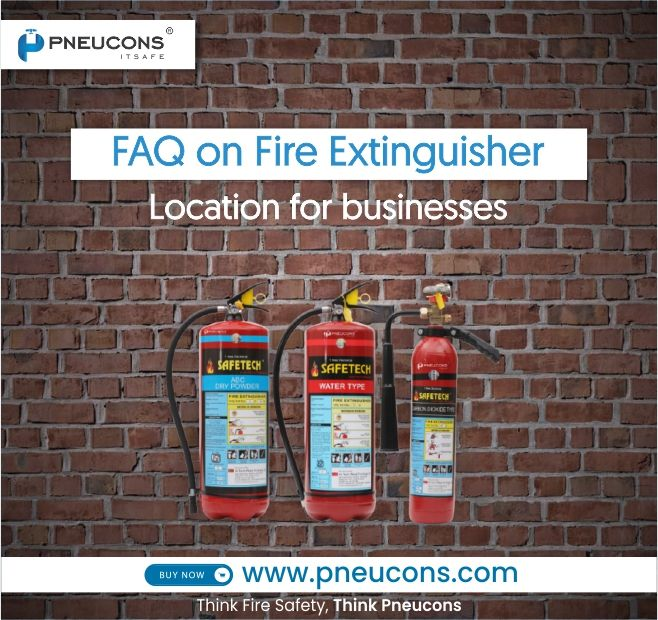 FAQ on Fire Extinguisher Location for businesses
