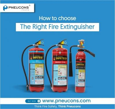 How to choose the right Fire Extinguisher