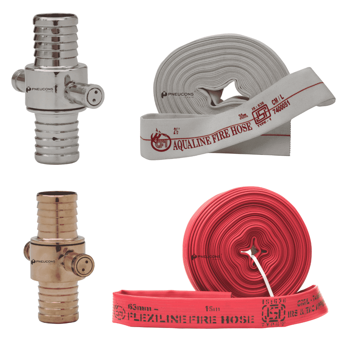 Delivery Coupling With Hose
